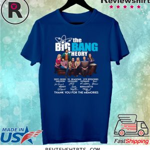 The Big Bang Theory thank you for the memories tee shirt